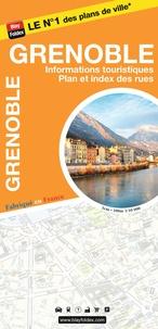 Blay-Foldex - Grenoble - 1/10 000, informations touristiques, plan et index des rues.