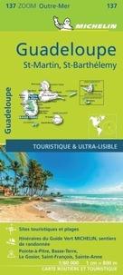 Michelin - Guadeloupe, Saint Martin, Saint Barthélémy - 1/80 000.