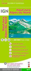 IGN - Haut-Jura, Alpes du Nord - 1/200 000.