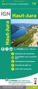 IGN - Haut-Jura - 1/75 000.