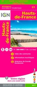 IGN - Hauts-de-France - 1/250 000.