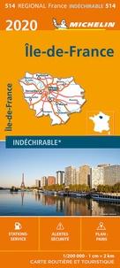 Michelin - Ile-de-France - 1/200 000, indéchirable.