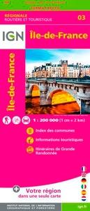 IGN - Ile-de-France - 1/250 000.