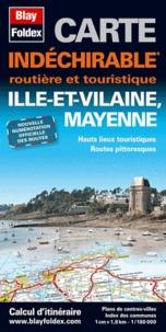 Blay-Foldex - Ille-et-Vilaine, Mayenne - 1/180 000.