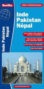 Berlitz - Inde Pakistan Népal - 1/4 000 000.