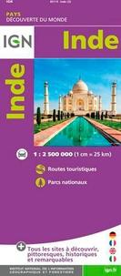 IGN - Inde - 1/2 500 000.