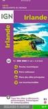 IGN - Irlande - 1/330 000.