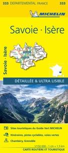 Michelin - Isère, Savoie - 1/150 000.