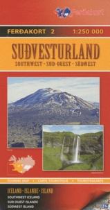 Ferdakort - Islande Sud-Ouest - 1/250 000.