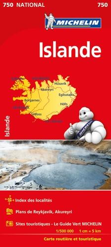 Michelin - Islande - 1/500 000.
