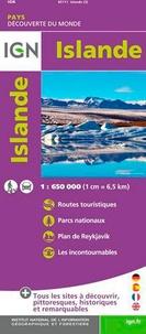 IGN - Islande - 1/650 000.