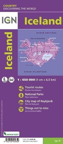 Islande. 1/650 000
