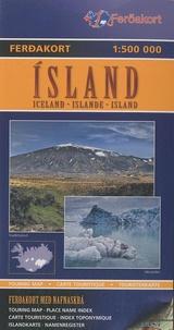 Ferdakort - Islande - 1/500 000.