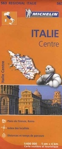 Michelin - Italie centre - 1/400 000.