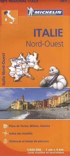 Michelin - Italie Nord-Ouest - 1/400 000.