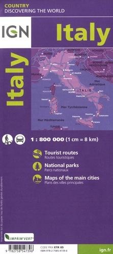 Italie. 1/800 000