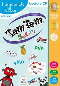 MDS - J'apprends à lire avec Tam Tam Safari. Lecture CP avec 2 jeux pour lire les mots, 1 poster abécédaire et un guide d'utilisation avec conseils et règles