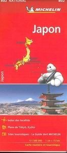 Michelin - Japon - 1/1 500 000.