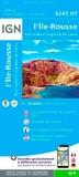 IGN - L'Ile Rousse, Parc naturel régional de Corse - 1/25 000.