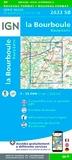 IGN - La Bourboule, Bourg-Lastic - 1/25 000.