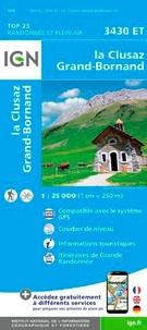 IGN - La Clusaz, le Grand-Bornand - 1/25 000.