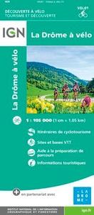IGN - La Drôme à vélo - 1/105 000.