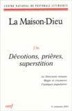 Jean-Yves Hameline et Monique Brulin - La Maison-Dieu N° 236 - 4e trimestr : Dévotions, prières, superstitions.