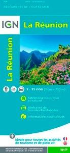 IGN - La Réunion - 1/75 000.