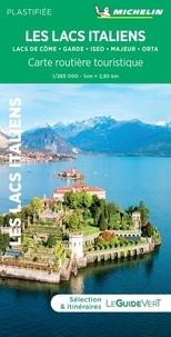 Michelin - Lacs italiens - Lacs de Côme, Garde, Iseo, Majeur, Orta. 1/285 000 Plastifiée.