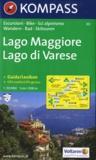Kompass - Lago Maggiore, Lago du Varese - 1/50 000, + Guida/Lexikon.