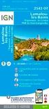 IGN - Lamalou-les-Bains L'Espinouse Le Caroux Parc Naturel Régional du Haut Languedoc - 1/25 000.