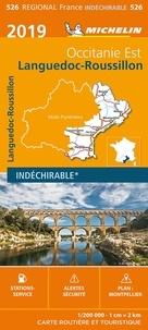 Michelin - Languedoc-Roussillon, Occitanie Est - 1/200 000 - indéchirable.