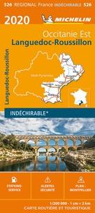 Michelin - Languedoc-Roussillon - 1/200 000, indéchirable.