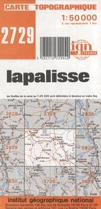 IGN - Lapalisse - Carte topographique 1/50 000.