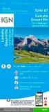 IGN - Laruns Gourette Col d'Aubisque Vallée d'Ossau - 1/25 000.