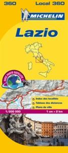 Michelin - Lazio - 1/200 000.