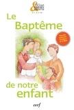 Cerf - Le baptême de notre enfant - Pack de 10 exemplaires.