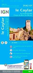 Le Caylar - La Couvertoirade, Cirque du Bout du Monde : 1/25 000.pdf