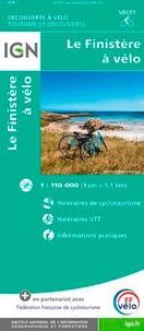 IGN - Le Finistère à vélo - 1/110 000.