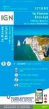 IGN - Le Havre-Etretat-PNR des boucles de la Seine normande.