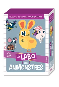 Tony Voinchet - Le labo des animonstres - Un jeu pour découvrir les multiplications CE1-CE2.