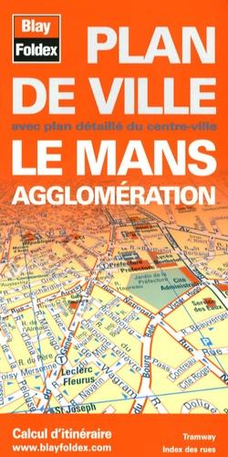 Blay-Foldex - Le Mans agglomération - Plan de ville.