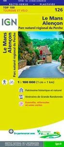 Le Mans, Alençon, Parc naturel régional du Perche - 1/100 000.pdf