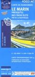 IGN - Le Marin Presqu'île des Trois Ilets Parc Naturel Régional de La Martinique - 1/25 000.