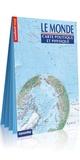 Express Map - Le monde - Carte politique et physique 1/31 000 000.