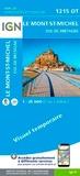 IGN - Le Mont-St-Michel, Dol-de-Bretagne - 1/25 000.