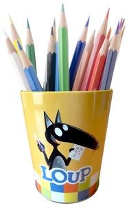 Auzou - Le pot à crayons Loup.