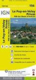 IGN - Le Puy-en-Velay Privas - 1/100 000.