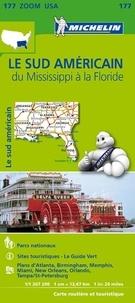 Michelin - Le sud américain du Mississippi à la Floride - 1/1 267 200.