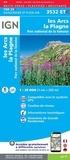 IGN - Les Arcs, la Plagne, Parc national de la Vanoise - 1/25 000.